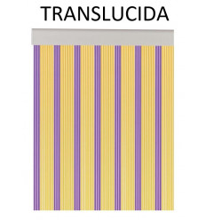 CORTINA A MEDIDA CINTA ANDROMEDA TRANSPARENTE VARIOS COLORES***