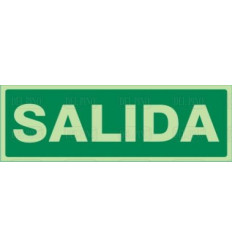 "SEÑAL-1035 ""SALIDA"" 297X105"