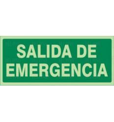 "SEÑAL-1036 ""SALIDA EMERGENCIA"" 297X148"