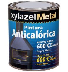 XYLAZEL METAL PINTURA ANTICALOR NegroMate 375