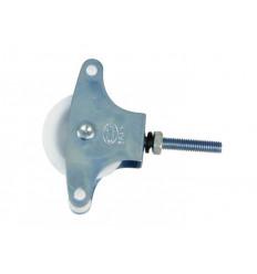 POLEA-1 ZINCADA PLASTICO R/METRICA BL 2UD