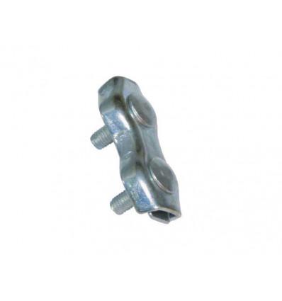 SUJETACABLES DOBLE M 30110 DIAM 4MM 2UD