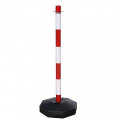 POSTE PARA CADENA PLASTICO 90CM CON BASE 143295657 14,30 €