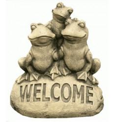 FIGURA ANIMALES WELCOME 3 RANAS
