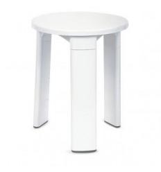TABURETE BLANCO PVC WC