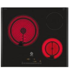 PLACA ELECTRICA 3EB765LQ 60 CM BISELADA