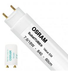 TUBO LED OSRAM 7,6W 4000K LUZ BLANCA