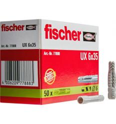 TACO FISCHER UX-6X35 EN CAJA (50U)