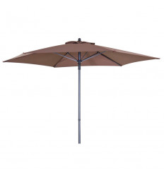 PARASOL ACERO MARRON ø 210 mm 141102602 32,50 €