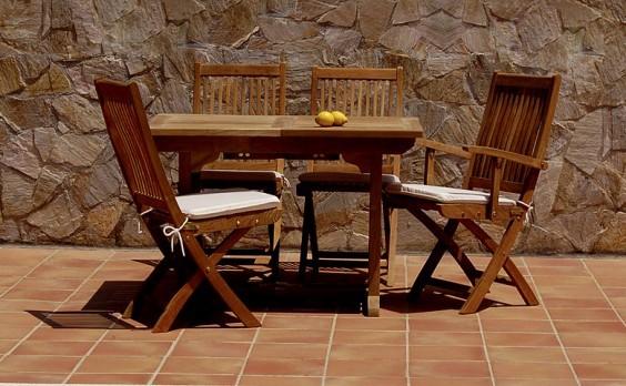 Mantenimiento de muebles de Teca - Suinplas Blog