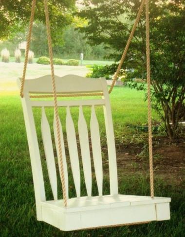 e0ff39783 Cómo hacer un columpio para tu terraza o jardín