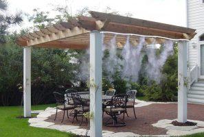 sistema nebulizador de agua